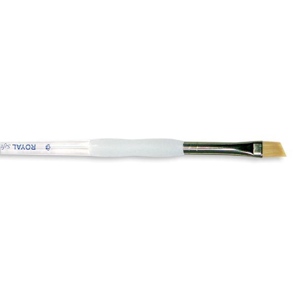 Soft-Grip Golden Taklon Angular Brush