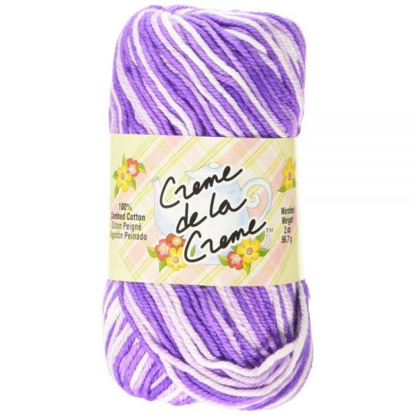Creme de la Creme Yarn - Purpletones