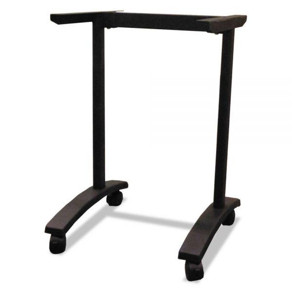 Alera Alera Valencia Series Training Table T-Leg Base, 24-1/2w x 19-3/4d, Black