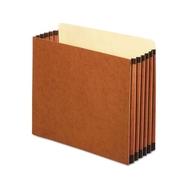 Pendaflex File Cabinet Pockets, Straight Cut, 1 Pocket, Letter, Redrope