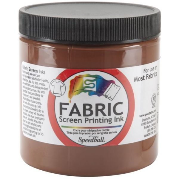 Speedball Fabric Screen Printing Ink 8oz