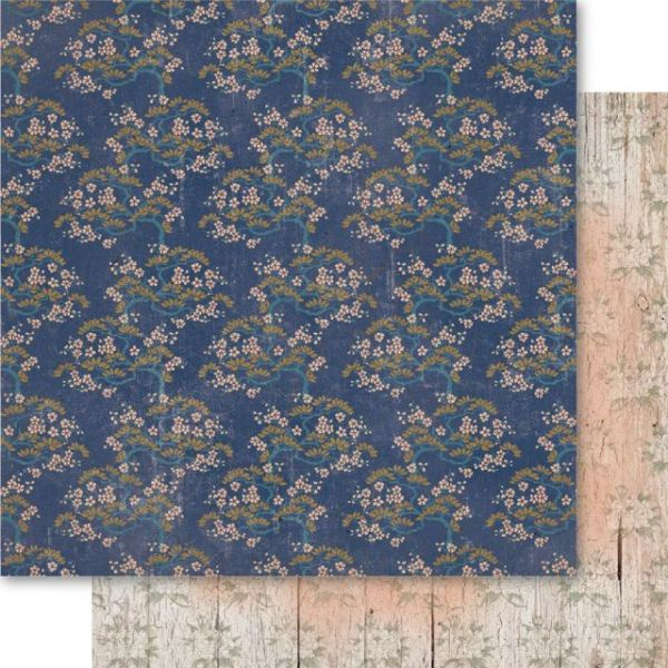 Oriental Chic Double-Sided Cardstock