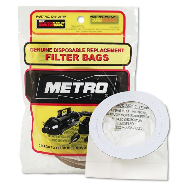 Metro DataVac Replacement Bags
