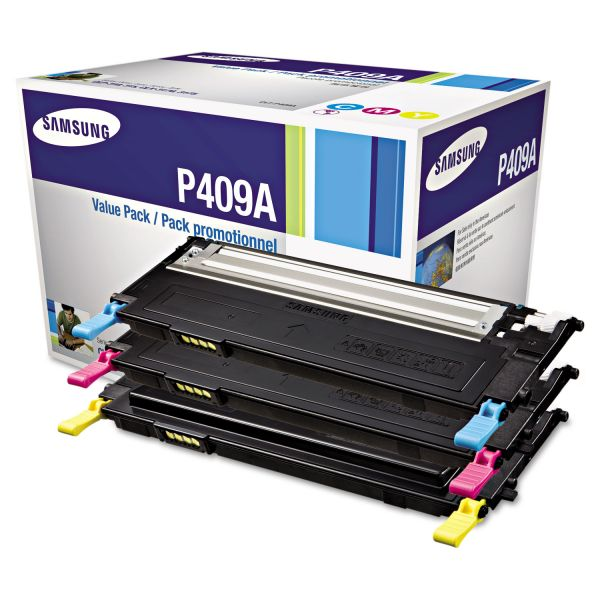 Samsung P409A Color Toner Cartridges