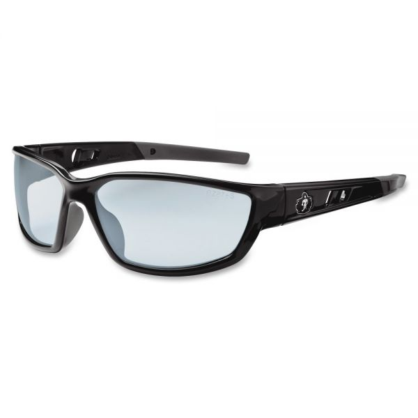 Ergodyne Kvasir Silver Mirror Lens Safety Glasses