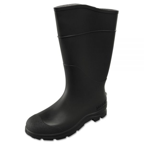 SERVUS by Honeywell CT Economy Knee Boots, Size 9, 15in Tall, Black, PVC