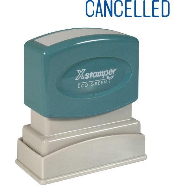 Xstamper CANCELLED Title Stamp