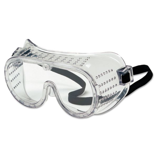 MCR Safety Safety Goggles, Over Glasses, Clear Lens