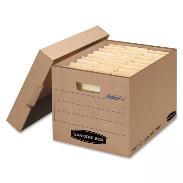 Bankers Box Filing Storage Boxes With Lift-Off Lids