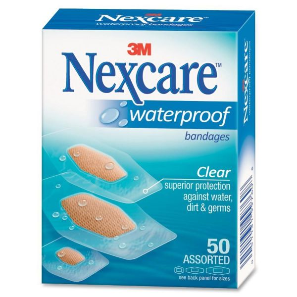 Nexcare Waterproof Adhesive Bandages