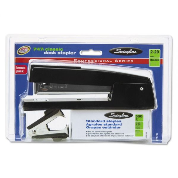 Swingline 747 Classic Stapler Plus Pack