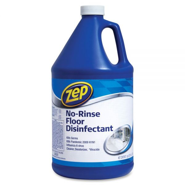 Zep Commercial No-Rinse Floor Disinfectant