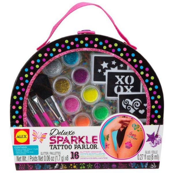 ALEX Toys Spa Deluxe Sparkle Tattoo Parlor Kit