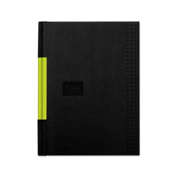 Oxford Idea Collective Professional Casebound Hardcover Notebook, 8 1/4 x 5 7/8, Black