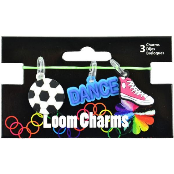 Loom Band Sport Charms