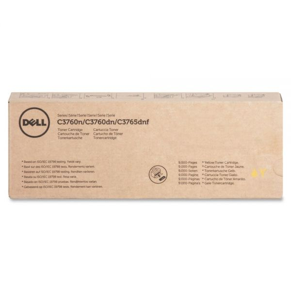 Dell Yellow Toner Cartridge