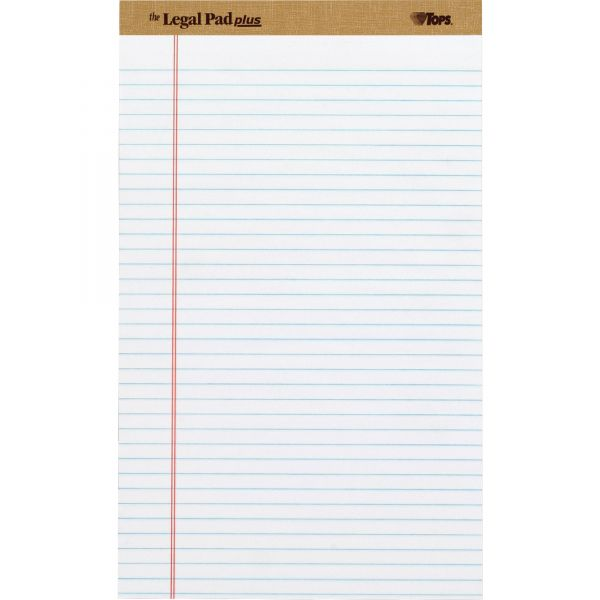 TOPS White Legal Pads