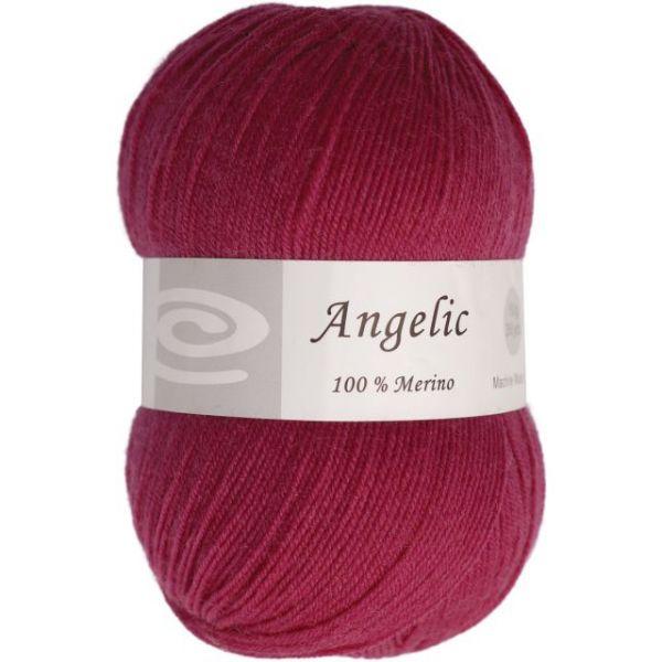 Elegant Angelic Yarn - Eggplant Purple
