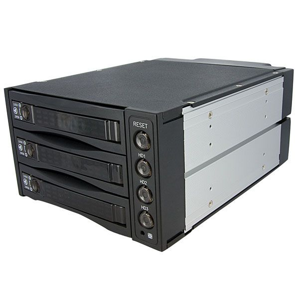 StarTech.com Hot Swap SATA/SAS Backplane RAID Bays