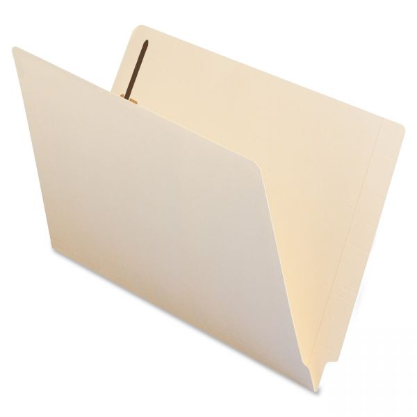Smead Manila End Tab File Folders With Fasteners