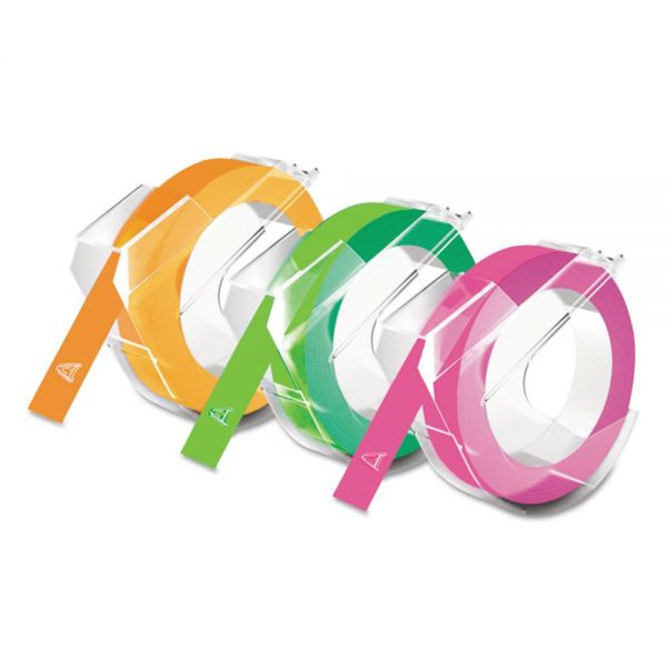 DYMO Self-Adhesive Glossy Labeling Tape for Embossers