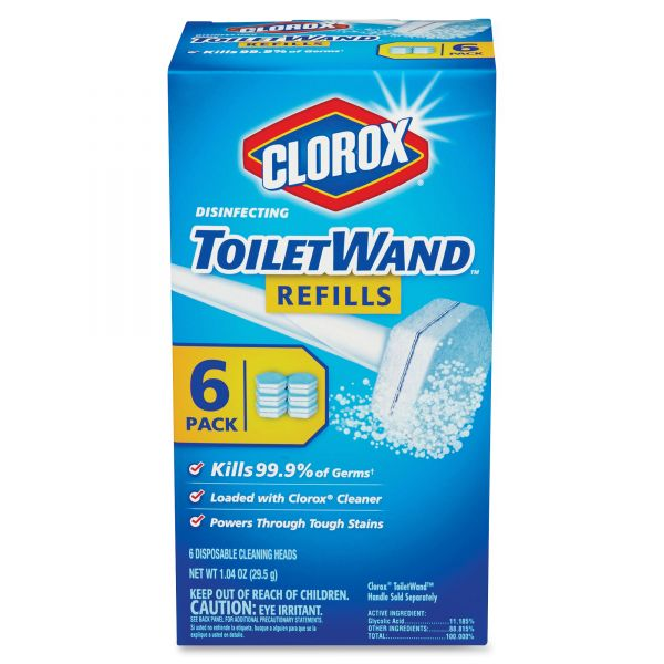 Clorox Disinfecting Toilet Wand Refills