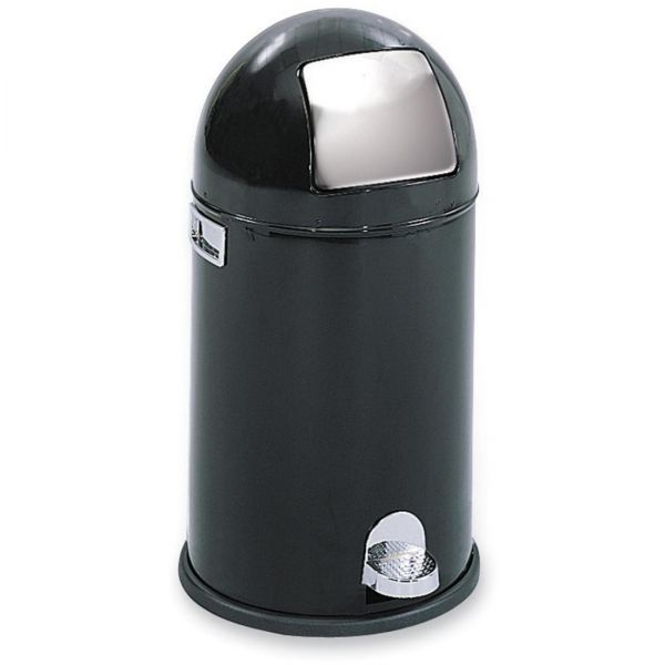 Safco Dome Step-On 9 Gallon Trash Can