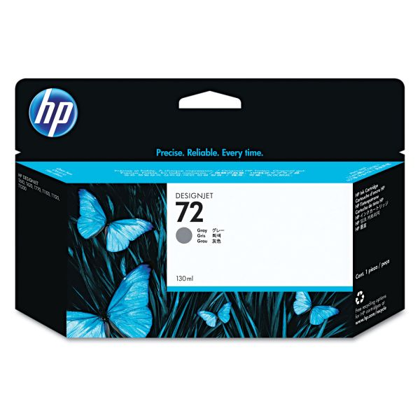 HP 72, (C9374A) Gray Original Ink Cartridge