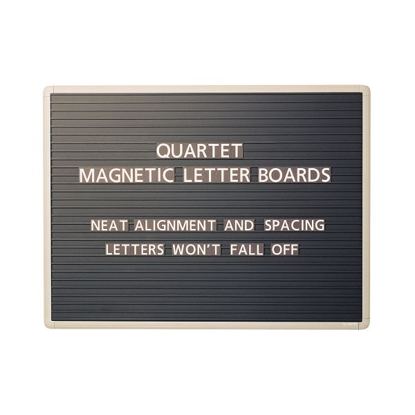 Quartet Magnetic Letter Board Sign