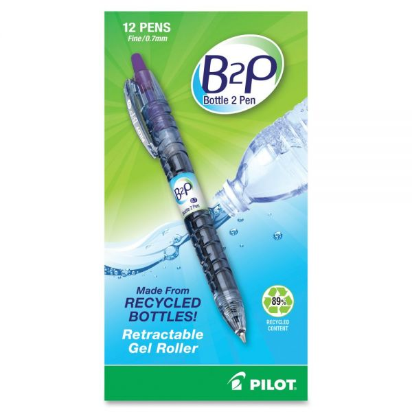 Pilot B2P Recycled Retractable Gel Ink Pen