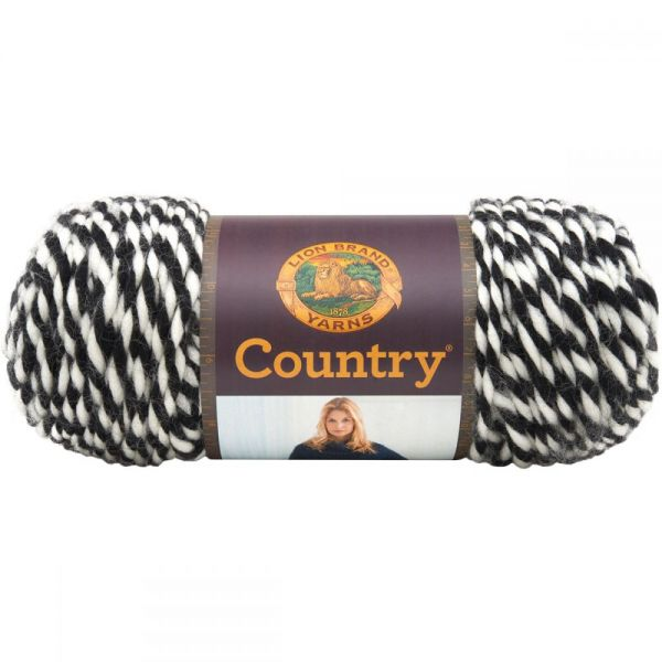 Lion Brand Country Yarn - White Mountains
