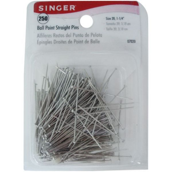 Ball Point Straight Pins
