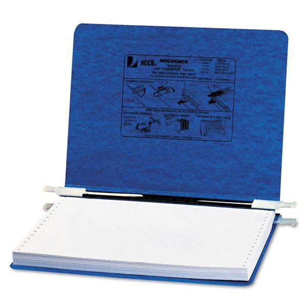 "ACCO PRESSTEX Covers w/Storage Hooks, 6"" Cap, 12 x 8 1/2, Dark Blue"