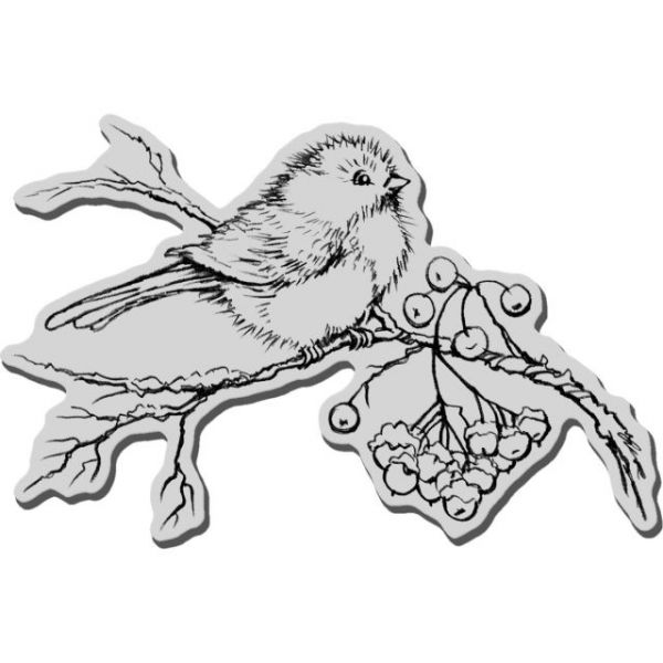 "Stampendous Christmas Cling Rubber Stamp 5.5""X4.5"" Sheet"