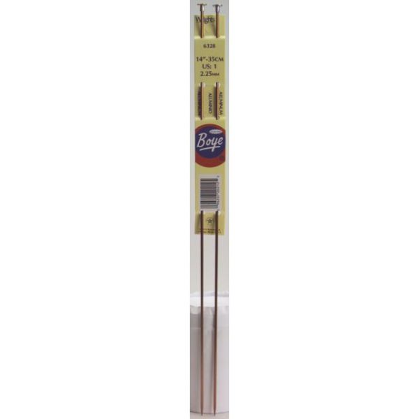 Single Point Aluminum Knitting Needles 14""