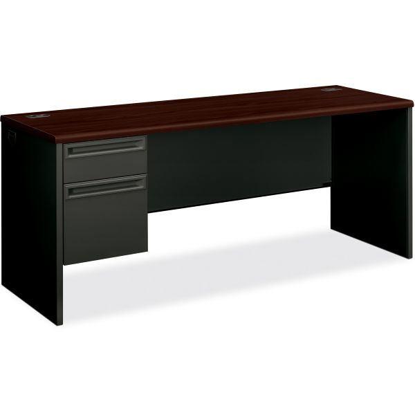 HON 38000 Series Single Pedestal Credenza