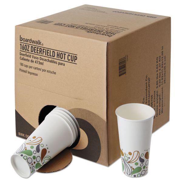 Boardwalk Convenience Pack 16 oz Paper Coffee Cups