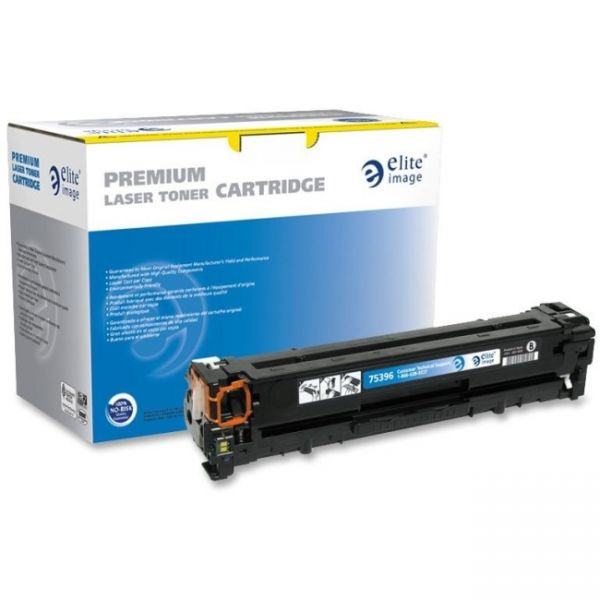 Elite Image Remanufactured HP 125A (CB540A) Toner Cartridge
