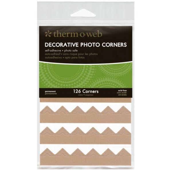 Decorative Photo Corners 126/Pkg