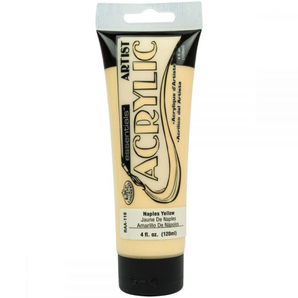 Royal & Langnickel Essentials Naples Yellow Acrylic Paint