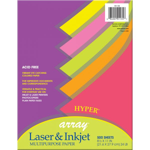 Pacon Array Colored Bond Paper