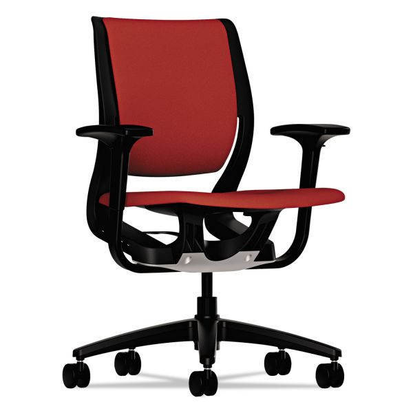 HON Purpose Series Mid-back Task Chair w/Arms