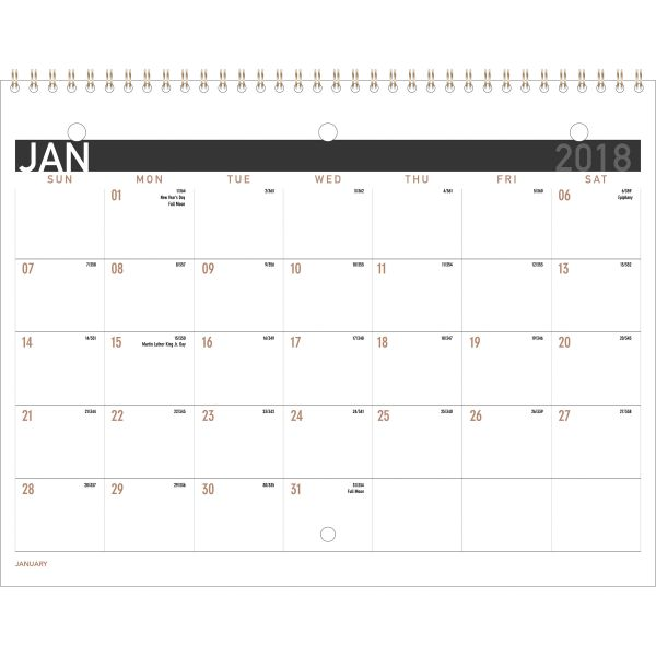 At-A-Glance 2PPM Monthly Wall Calendar