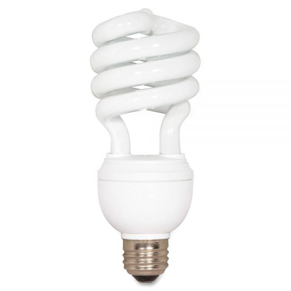 Satco 12/20/26 Watt 3-Way T4 Spiral CFL Bulb