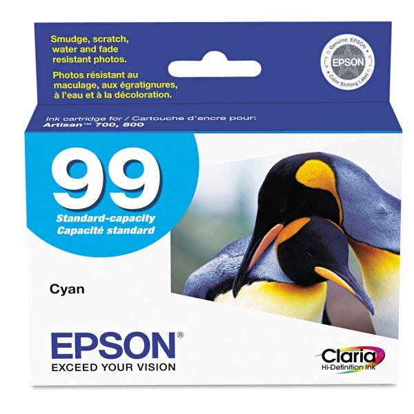 Epson 99 Cyan Ink Cartridge (T099220)