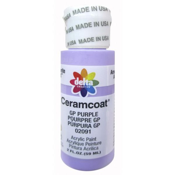 Ceramcoat GP Purple Acrylic Paint