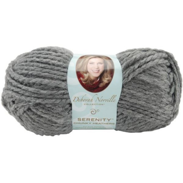 Deborah Norville Collection Serenity Chunky Heathers Yarn