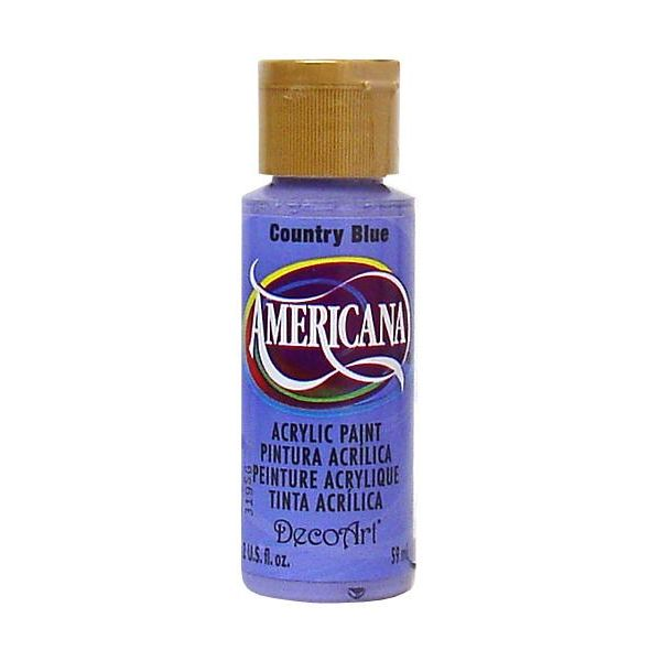 Deco Art Americana Country Blue Acrylic Paint