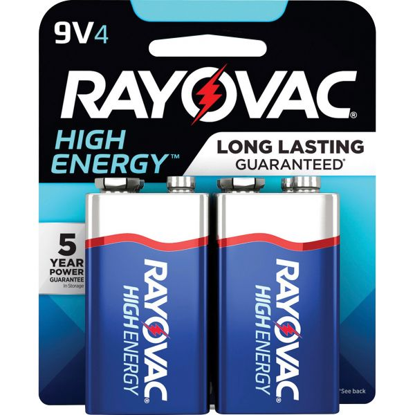 Spectrum Brands Rayovac Alkaline 9 Volt Battery