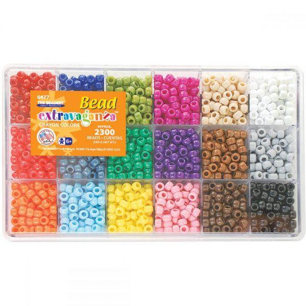 Bead Extravaganza Crayon Color Mix Bead Box Kit